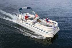 Fisher Boats Freedom 221 DLX Pontoon Boat