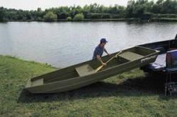 Fisher Boats 1436 Lite Riveted Jon Jon Boat