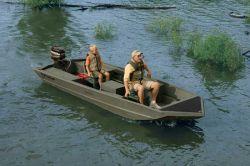 Fisher Boats 1648 SS All-Welded Jon Jon Boat