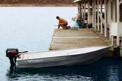 Fisher Boats V1266 Lite Riveted Deep Utility Boat