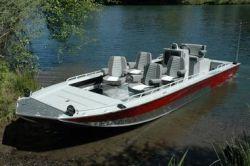 2014 - Fish Rite Boats - River Jet 21 Outboard