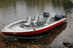 2014 - Fish Rite Boats - Rivermaster 17 Inboard