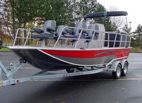Research 2010 fish rite boats deck jet recreation boat for Jet fishing boat