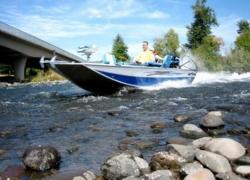 2010 - Fish Rite Boats - River Jet 17 Outboard