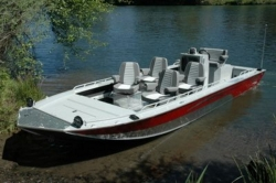 2012 - Fish Rite Boats - River Jet 22 Inboard