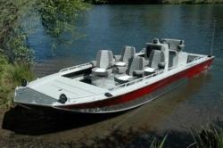2012 - Fish Rite Boats - River Jet 24 Inboard