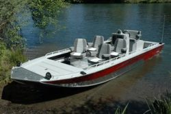 2013 - Fish Rite Boats - River Jet 22 Outboard