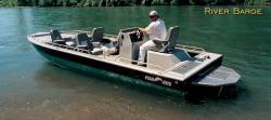 Fish Rite Boats River Barge 19 Bay Boat