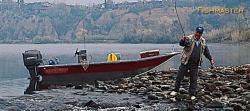 Fish Rite Boats Fishmaster 16 Guide Bay Boat