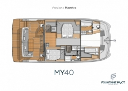 2018 - Fountaine Pajot - Catamaran Motor Yacht MY 40