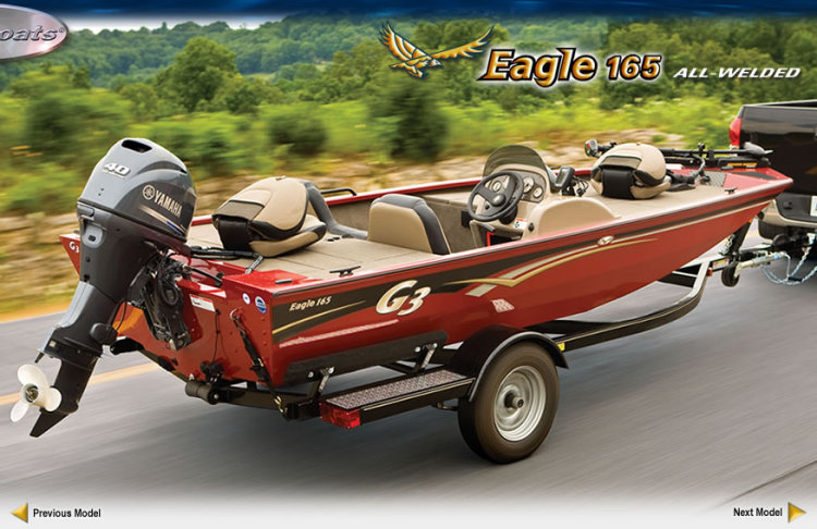 research 2010 - g3 boats - eagle 165 on iboats.com  iboats boats for sale
