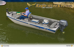 2010 - G3 Boats - Eagle 165 PF Vinyl
