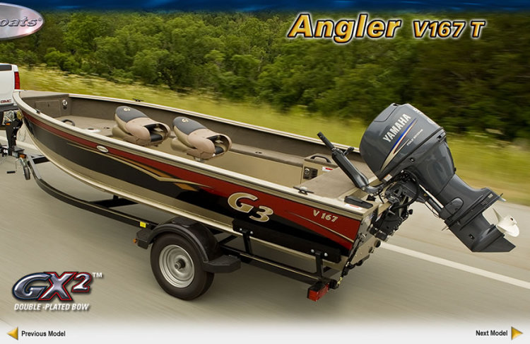 research 2010 g3 boats angler v167 t on iboats com