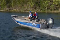 2014 - G3 Boats - Angler V172 F