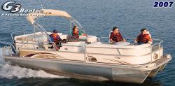 G3 Boats LX3 22 DLX Pontoon Boat