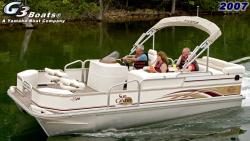 G3 Boats LX20 Fish  Cruise Pontoon Boat