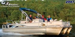 G3 Boats LX 22 FC Pontoon Boat