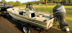 G3 Boats 1652 CC DLX Jon Boat