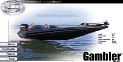Gambler Boats Gambler 2100 Bass Boat