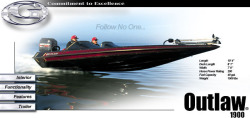 Gambler Boats Outlaw 1900 Bass Boat