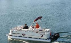 2009 - Gillgetter Pontoon Boats - 7520 Sport Cruise