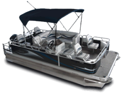 2010 - Gillgetter Pontoon Boats - 7518 XRE Fish