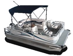 2010 - Gillgetter Pontoon Boats - 7516 Sport Deluxe