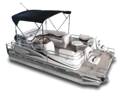 2010 - Gillgetter Pontoon Boats - 7518 Sport Cruise