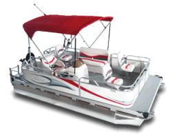 2010 - Gillgetter Pontoon Boats - 7516 Outfitter