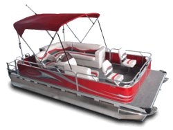 2010 - Gillgetter Pontoon Boats - 7518 Sport Deluxe