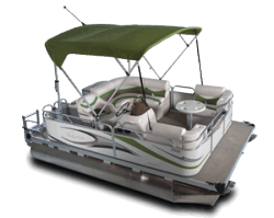 2010 - Gillgetter Pontoon Boats - 7514 Cruise Deluxe