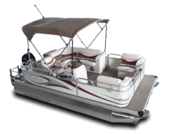 2010 - Gillgetter Pontoon Boats - 7516 Cruise Deluxe