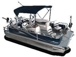 2010 - Gillgetter Pontoon Boats - 7518 Fishmaster II
