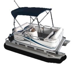 2010 - Gillgetter Pontoon Boats - 613 RL