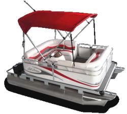 2010 - Gillgetter Pontoon Boats - 713 RL