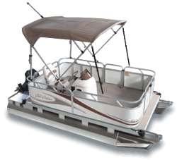 2010 - Gillgetter Pontoon Boats - 613 Outfitter