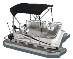 2010 - Gillgetter Pontoon Boats - 713 Tiller