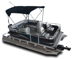 2010 - Gillgetter Pontoon Boats - 715 Sport Deluxe
