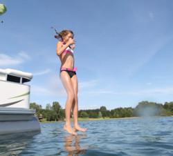 2010 - Gillgetter Pontoon Boats - 615 Tiller