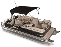 Gillgetter Pontoon Boats - 7518 XRE Cruise