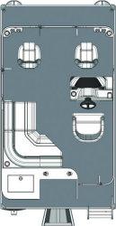 2011 - Gillgetter Pontoon Boats - 7514 Sport Deluxe