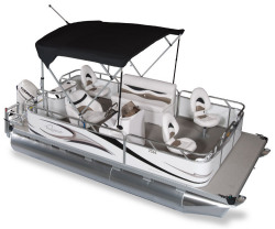 2011 - Gillgetter Pontoon Boats - 7516 Outfitter