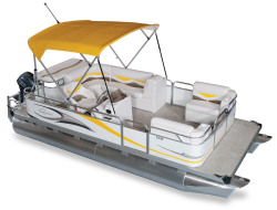2011 - Gillgetter Pontoon Boats - 7518 Cruise Deluxe