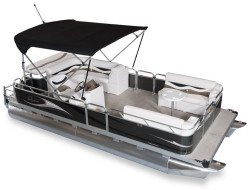 2011 - Gillgetter Pontoon Boats - 820 Cruise Deluxe