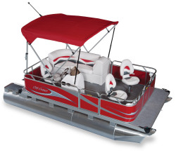 2011 - Gillgetter Pontoon Boats - 715 Fishmaster