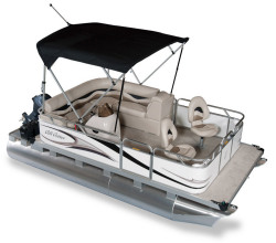 2011 - Gillgetter Pontoon Boats - 715 Sport Deluxe
