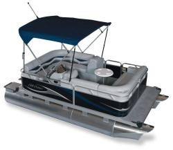 2011 - Gillgetter Pontoon Boats - 715 RL