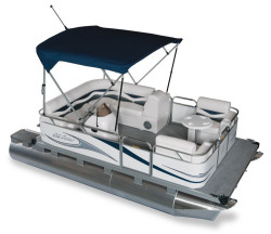 2011 - Gillgetter Pontoon Boats - 715 Cruise Deluxe