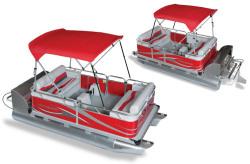 2011 - Gillgetter Pontoon Boats - 614 RL