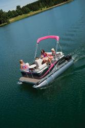2012 - Gillgetter Pontoon Boats - 715 Fish N Cruise
